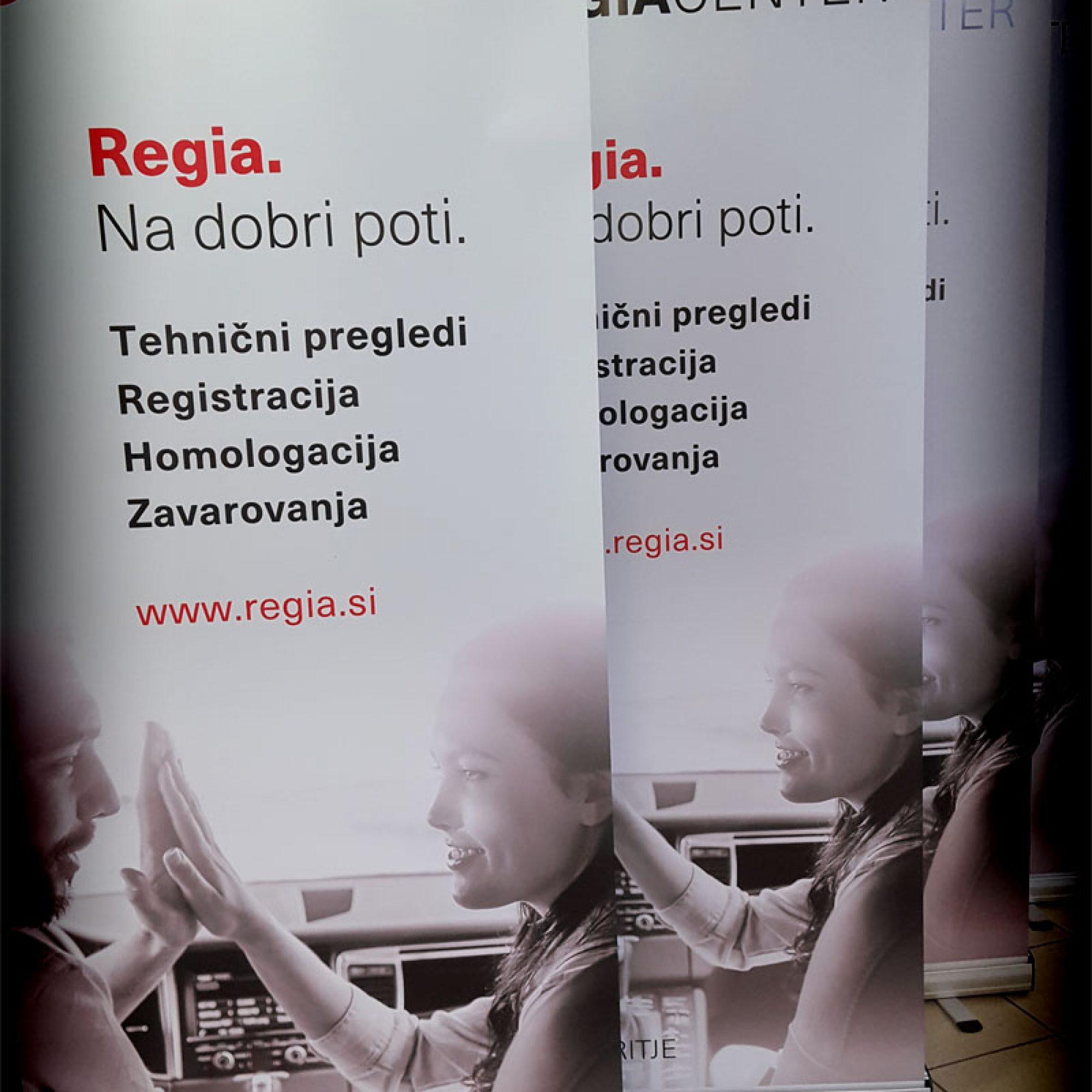 Rollup pano Regia